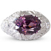 Purple Spinel & Diamond Ring