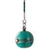 Green Enamel Pendant Watch
