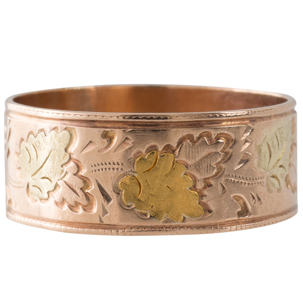 Antique Gold Band