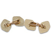 A Pair of Gold Cufflinks