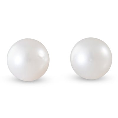 White South Sea Pearl 7mm Studs