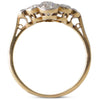 Diamond Plaque Cluster Ring