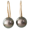 10mm Tahitian Pearl Fixed Hooks