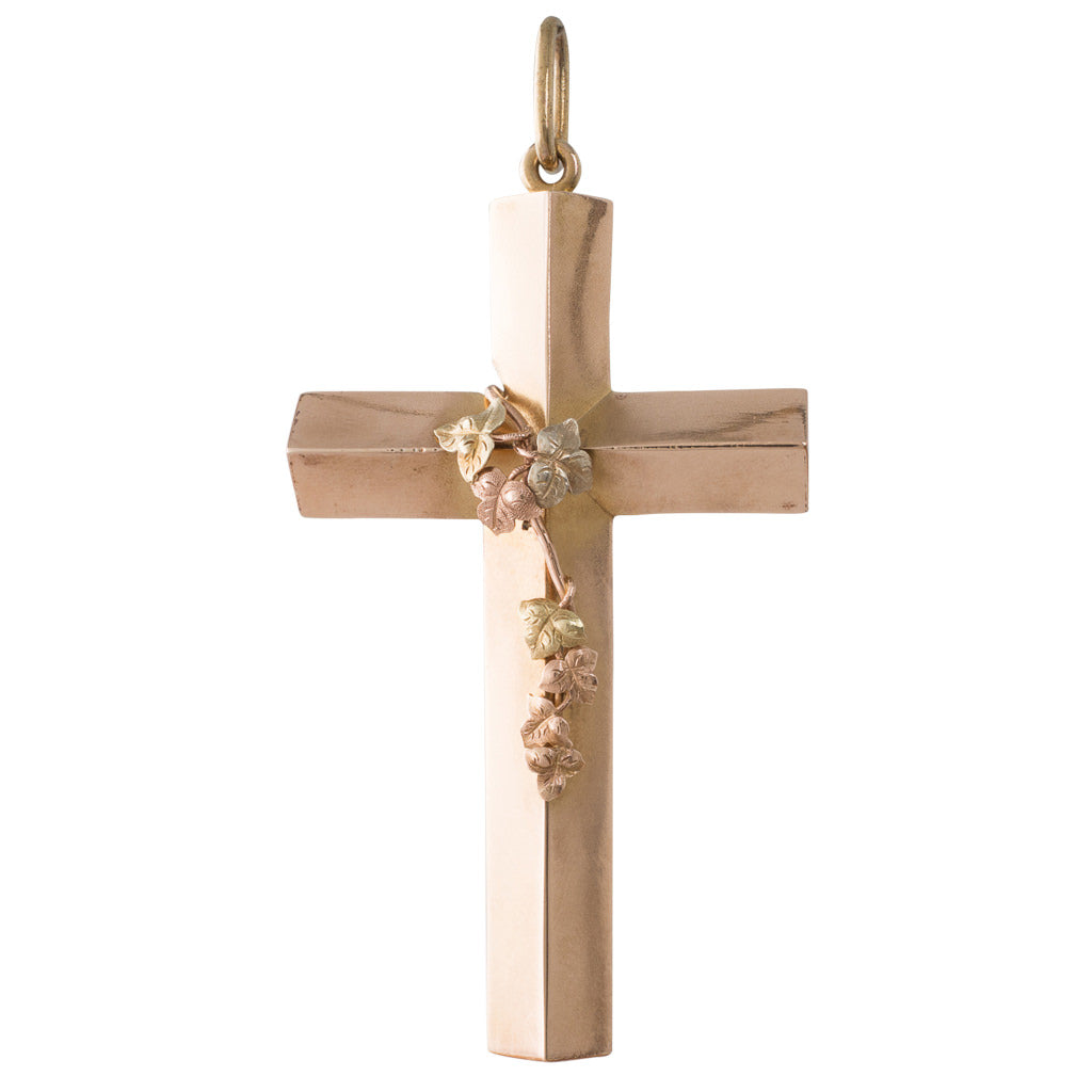 Antique Gold Cross