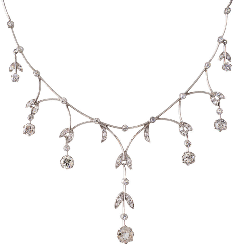Art Deco Diamond Necklet