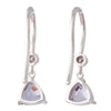 Lavender Spinel Drop Earrings
