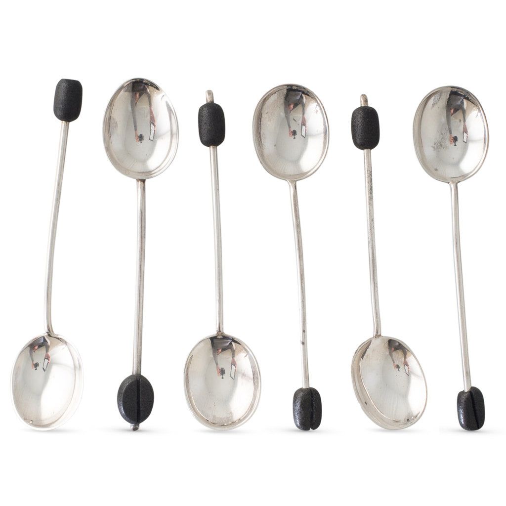 Boxed Set of Six Coffee Spoons