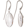 Akoya Pearl Plum Enamel Earrings