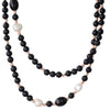 Agate  Onyx & Freshwater Necklace