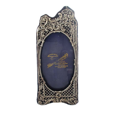 Pierced Art Nouveau Picture Frame