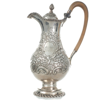 An Irish Rococco Coffee Jug