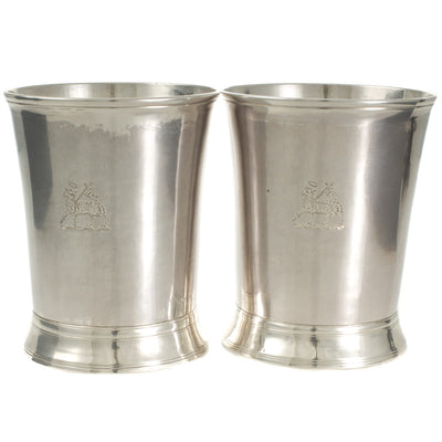 A Pair of Newcastle Beakers