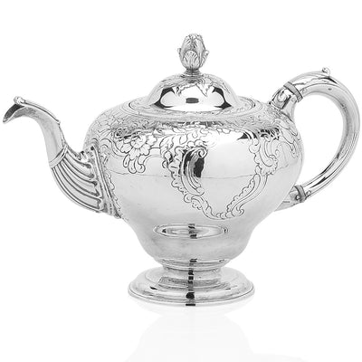 George III Four Piece Teaset