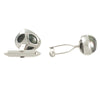 Tahitian Keshi White Gold Cufflinks
