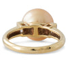 Gold South Sea & Diamond Ring