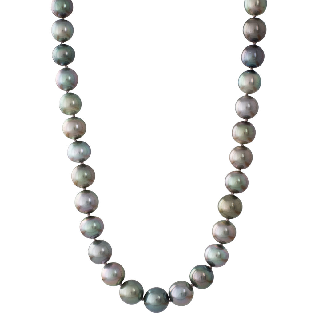 Shaded Semi-Round Tahitian Strand