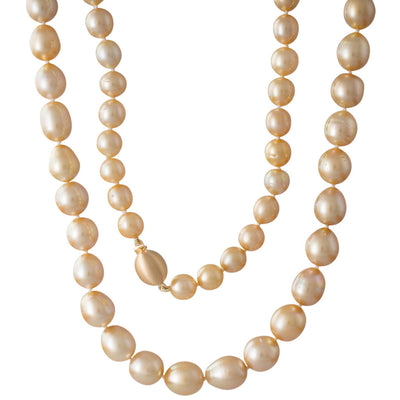 Opera Gold South Sea Pearl Strand