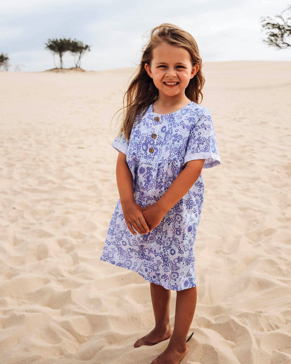 Kuu Dreaming Linen Dress