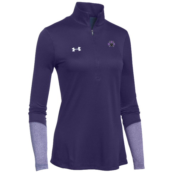 Under Armour Women's Purple Locker 1/4 Zip
