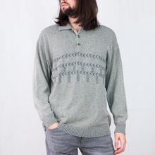 Load image into Gallery viewer, VIN-KNIT-05032 Vintage πλεκτή μπλούζα unisex XL