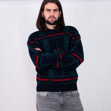 Load image into Gallery viewer, VIN-KNIT-05178 Vintage πλεκτή μάλλινη μπλούζα unisex M