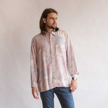 Load image into Gallery viewer, VIN-SHI-07057 Vintage πουκάμισο crazy pattern πολύχρωμο unisex L