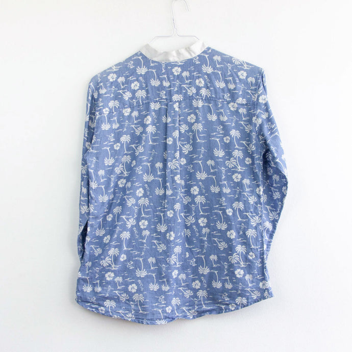 VIN-SHI-05132 Second hand flannel πουκάμισο unisex M