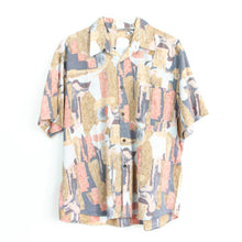 Load image into Gallery viewer, VIN-SHI-05707 Vintage crazy pattern πουκάμισο unisex S