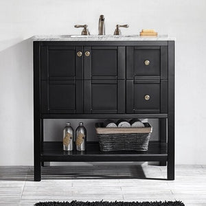 "Caldwell 36"" Single Bathroom Vanity Set"