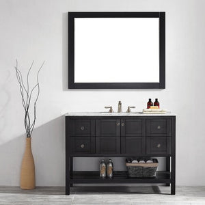 "Caldwell 48"" Single Bathroom Vanity Set with Mirror"