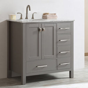 "Newtown 36"" Single Bathroom Vanity Set"