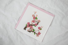 Load image into Gallery viewer, Quilling Card Cherry Blossom