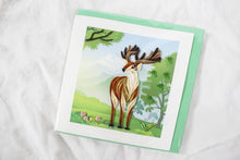Load image into Gallery viewer, Quilling Card Deer