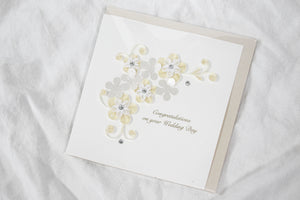 Quilling Card Wedding