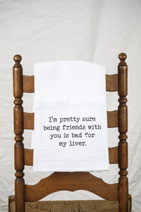 Friends Dish Towel