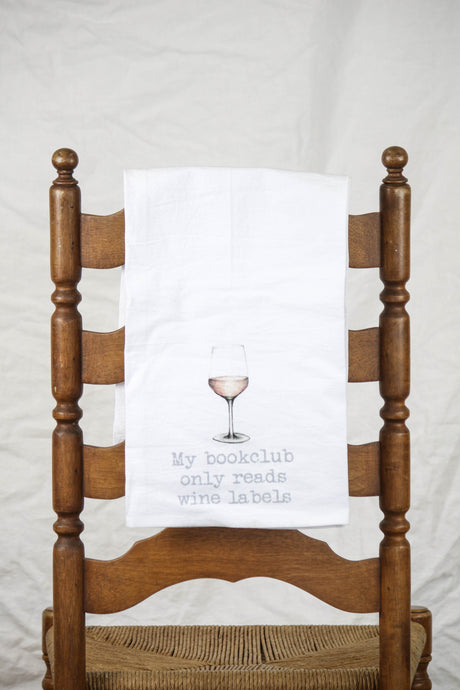 Bookclub Dish Towel