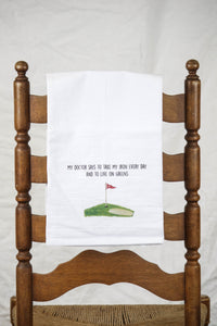 Golf Dish Towel