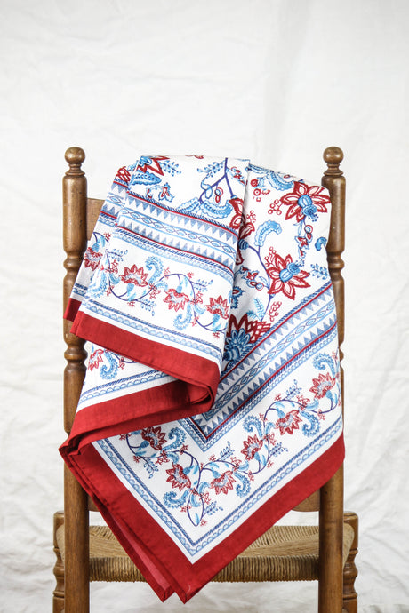 Red White and Blue Table Cloth