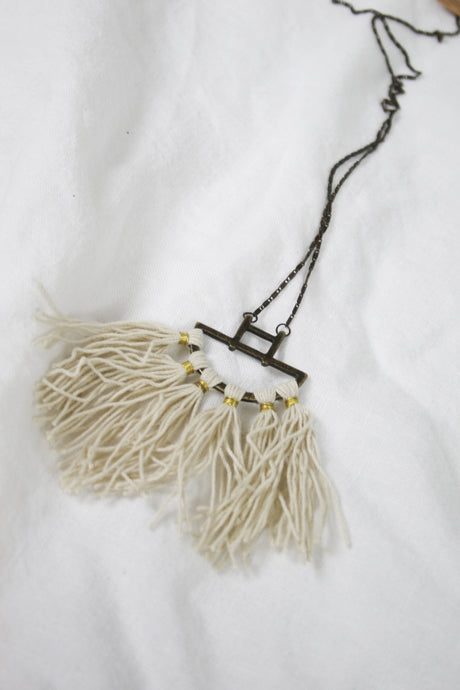 Fringe Necklace