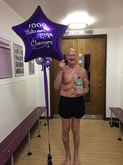 Phil completes 1000 classes!