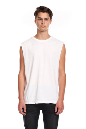 Muscle Tee White