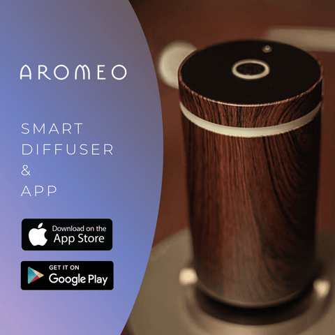Aromeo Smart Diffuser and Antiviral Blend - Miscato