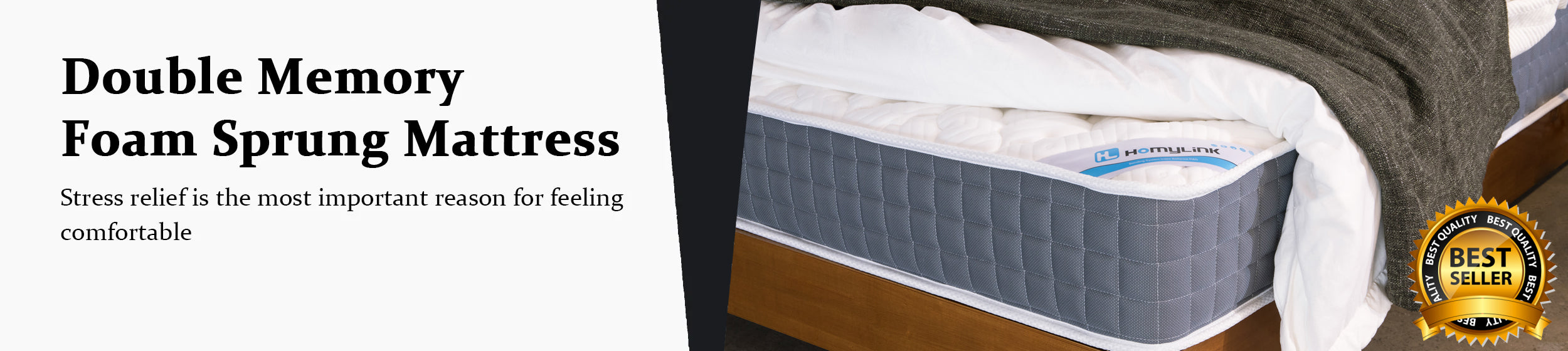 Homylink memory foam mattress