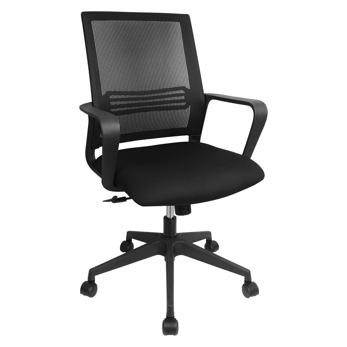 BARTONER Mesh High Back With Armrest Seat Height Tilt Office Chair