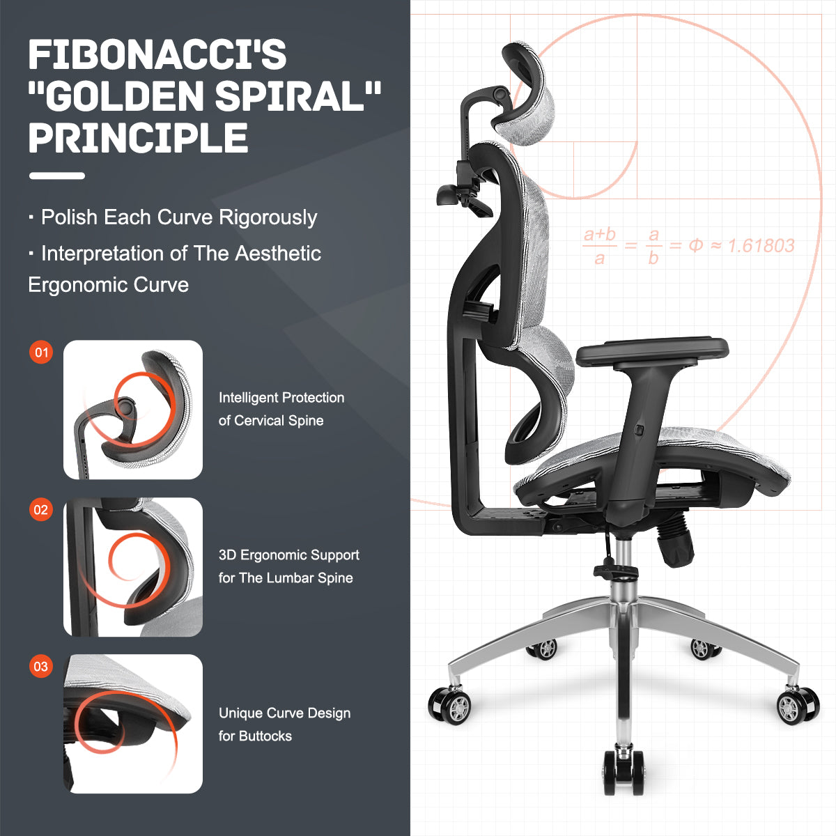 Homylink Ergonomic Office Chair