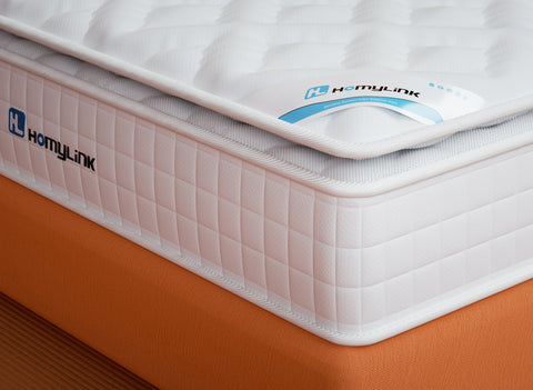 HomyLink DAYLILY Pocket Sprung Pillow Top Mattresses