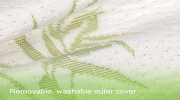 homylink removable washable outer cover pillow