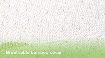 homylink breathable bamboo cover pillow