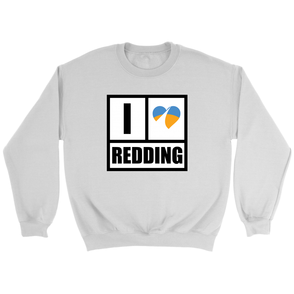 I Heart Redding Crewneck Sweatshirt