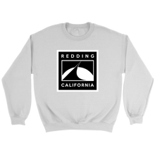 Redding Black and White Crewneck Sweater
